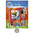Album Panini Coupe du Monde Afrique du Sud 2010 + set complet d'images à coller