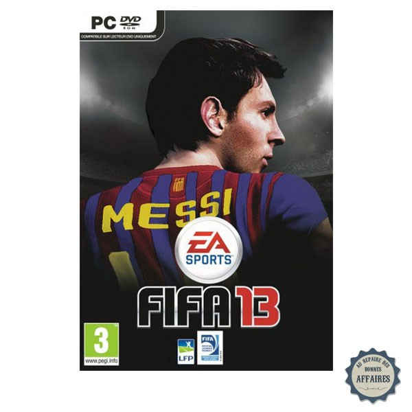 fifa 13 le jeu de foot sur pc et consoles ps3 wii. Black Bedroom Furniture Sets. Home Design Ideas