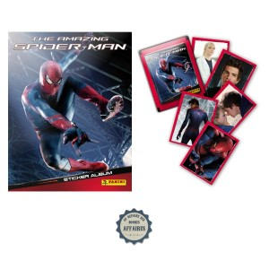 The Amazing Spider-Man : Album Panini 2012 + set complet d&#039;images &agrave; coller