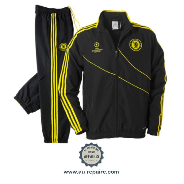 8bbb9e79e2760 ... Survêtement Adidas Junior Chelsea FC modèle Champion s League saison  2012-2013 ...