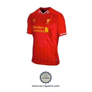 Liverpool FC Maillot Warrior Premier League saison 2013-2014