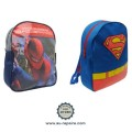 Sac à dos Super-Héros : Spiderman, Superman
