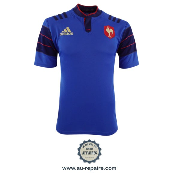 equipe de france de rugby maillot adidas saison 2015 2016 au repaire des bonnes affaires. Black Bedroom Furniture Sets. Home Design Ideas