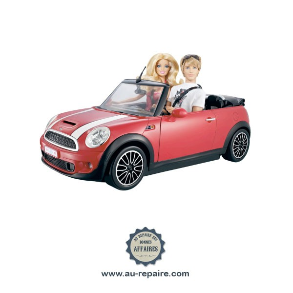 mini cooper ken voiture barbie mattel au repaire des bonnes affaires. Black Bedroom Furniture Sets. Home Design Ideas