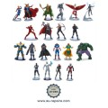 Ensemble de 20 figurines Marvel Avengers : Ant-Man, Captain America, Hulk, Iron Man, Thor...
