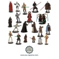 Ensemble de 20 figurines Star Wars : Luke Skywalker, R2-D2, Dark Vador