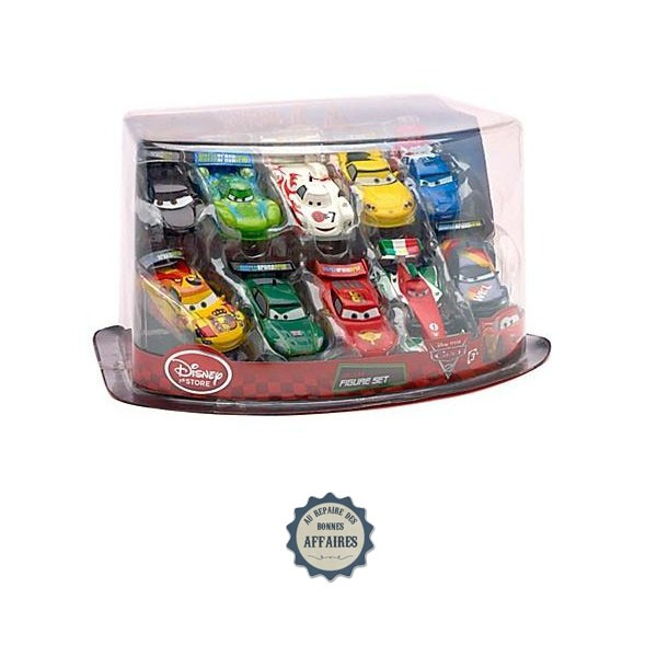 Voitures de course cars 2 set figurines de luxe disney au repaire des bonnes affaires - Image a colorier cars 2 ...