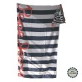 Serviette de bain Pepe Jeans mod&egrave;le &quot;Baracoa Navy&quot;