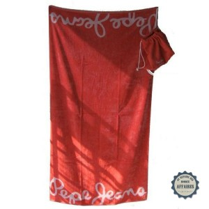 Serviette de bain Pepe Jeans mod&egrave;le &quot;Varadero&quot;
