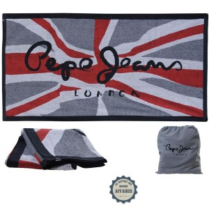 serviette de bain pepe jeans mod le jack au repaire des bonnes affaires. Black Bedroom Furniture Sets. Home Design Ideas
